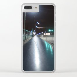 Sylvan Bridge Clear iPhone Case