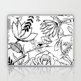 Floral Illustration (clear background) Laptop & iPad Skin