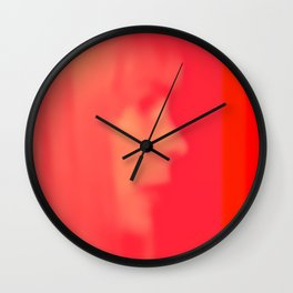 joni mitchell (pink) Wall Clock
