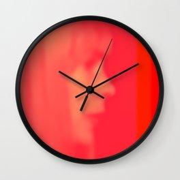 joni mitchell (pink) Wall Clock