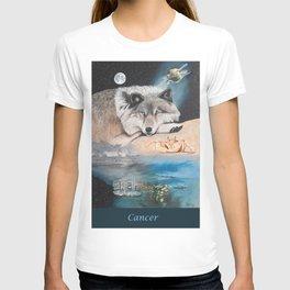 Cancer- The Zodiac Wildlife Series T-shirt