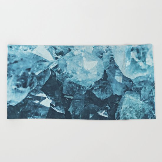 Aquamarine Gem Dreams Beach Towel