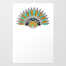Tribe Till I Die Art Print