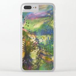 Depth of Color Clear iPhone Case