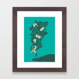 Yay! Technology Framed Art Print
