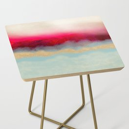 Gold Path Side Table