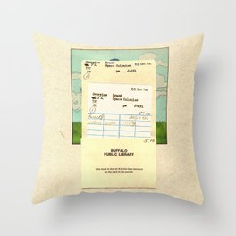 Space Colonies Are Overdue Throw Pillow