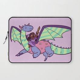 Princess and Her Dragon Laptop Sleeve