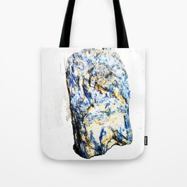 Kyanite crystall Gemstone Tote Bag