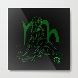Monstrous Zodiacs: Virgo, the Elf Metal Print