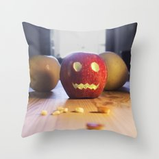 This halloween I want to be a pumpkin!!! Throw Pillow