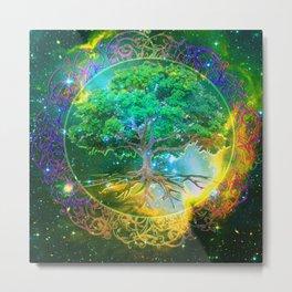 Tree of Life Wellness Metal Print