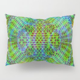Colorful diffraction Pillow Sham