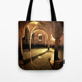 Underwater Crypt Tote Bag