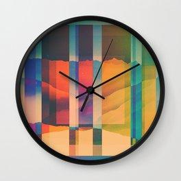 Fractions C06 Wall Clock