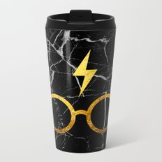 Harry P Stone Metal Travel Mug
