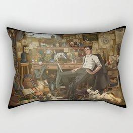The Winterkings: Ari's Room Rectangular Pillow