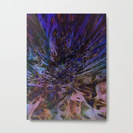 Frenzied Metal Print
