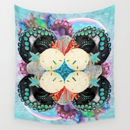 Tangled Waters Wall Tapestry