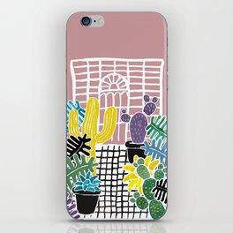 Cacti & Succulent Greenhouse iPhone Skin