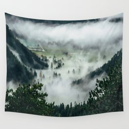 The Rolling Gray Wall Tapestry