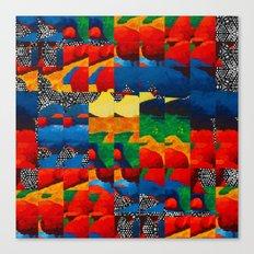 Squared Landscape  Canvas Print