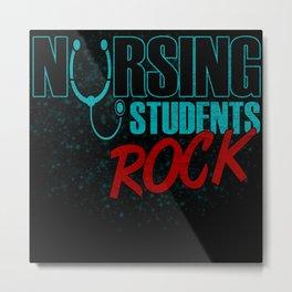 Nursing Students Rock Metal Print