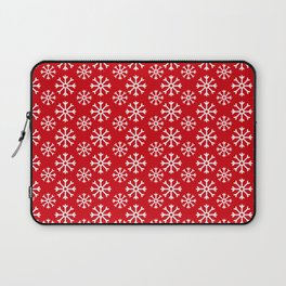 Winter Wonderland Snowflake Christmas Pattern Laptop Sleeve