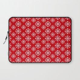 Winter Wonderland Snowflake Christmas Pattern Laptop Sleeve