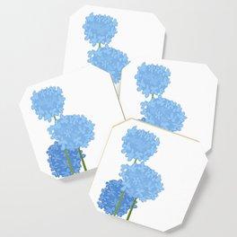 Blue Flowers Coaster