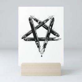 PENtagram Mini Art Print