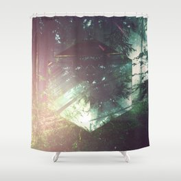 Fractions 03 Shower Curtain