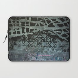 Patterned with Black Laptop Sleeve