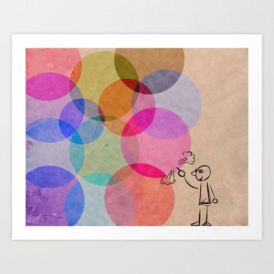 Pop!! Art Print