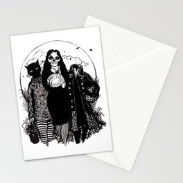 Halloween Trio Stationery Cards