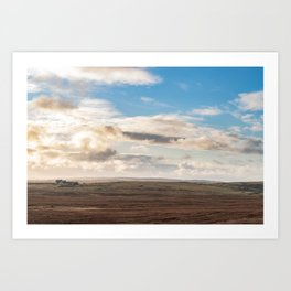 Scottish countryside landscape photography - The Highlands Art Print