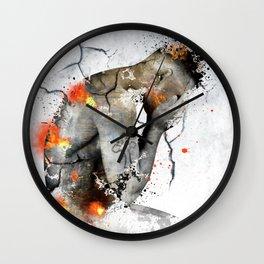nude explore Wall Clock