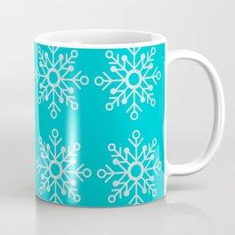 Winter/Christmas - Snow Crystals V.1 Coffee Mug