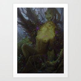 Death of a dryad Art Print