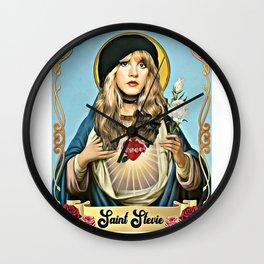 Saint Stevie Nicks Wall Clock