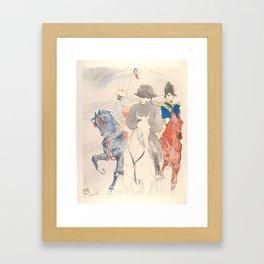"""Henri de Toulouse-Lautrec """"Napoleon"""" Framed Art Print"""