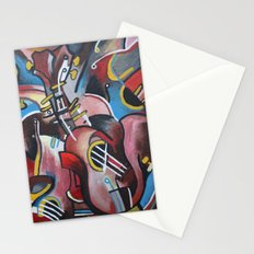 Let Them Hear Music Stationery Cards