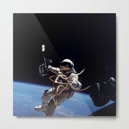 Astronaut : First American Spacewalk 1965 Metal Print