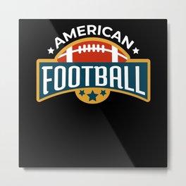 Football Gift Sport Leisure Metal Print
