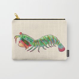 Peacock Mantis Shrimp Carry-All Pouch