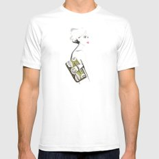 Valentino Clutch White MEDIUM Mens Fitted Tee