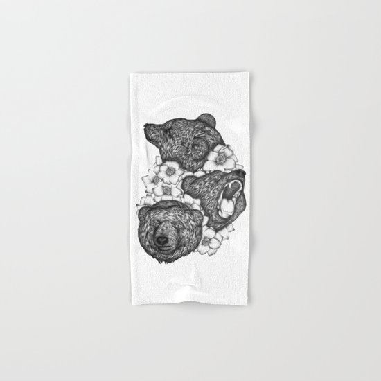 Bears in Bears Hand & Bath Towel