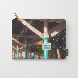Train Platform, Afternoon Sunlight Carry-All Pouch