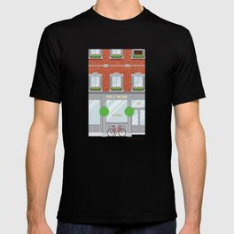 Pinwhistle Way Faccade T-shirt