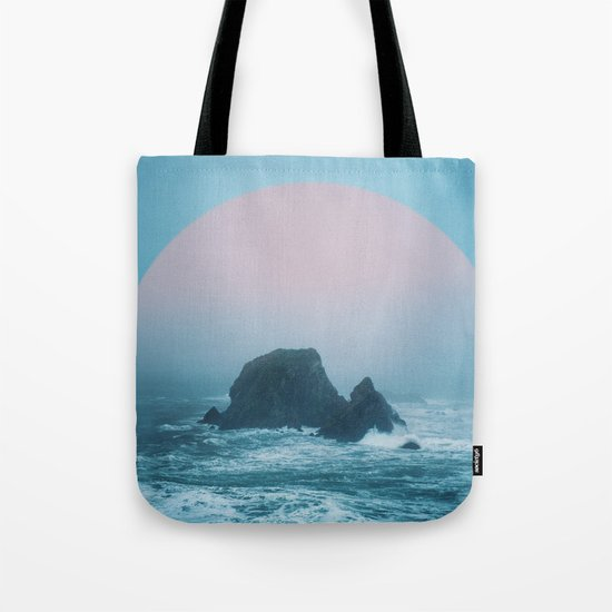 Peach Sunrise Tote Bag